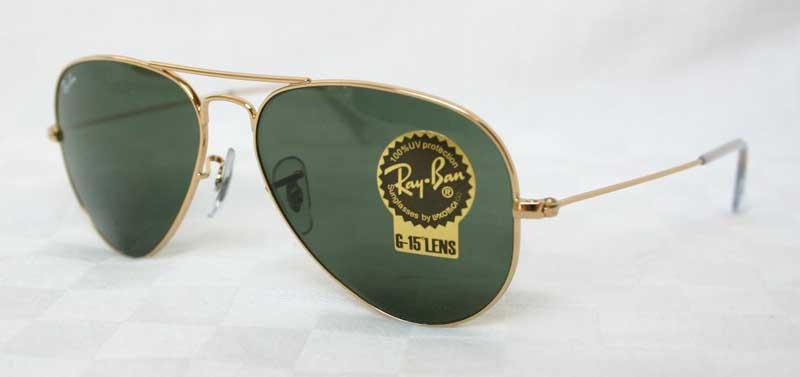 original ray ban pilotenbrille rb 3025 w3234 neu gr 55 ebay. Black Bedroom Furniture Sets. Home Design Ideas