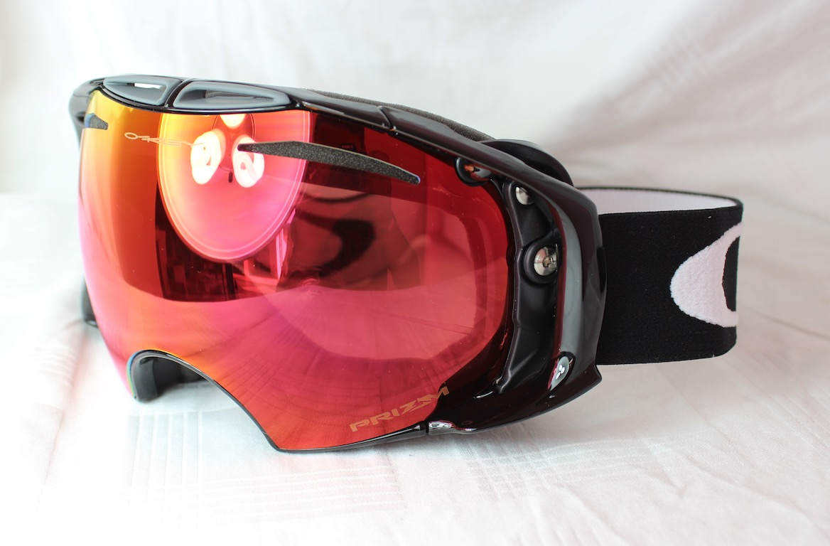 b937413a466 Details about Oakley Airbrake OO 7037-40 Black - Prizm Torch Irid + PRIZM  SAPPHIRE IRID NEW